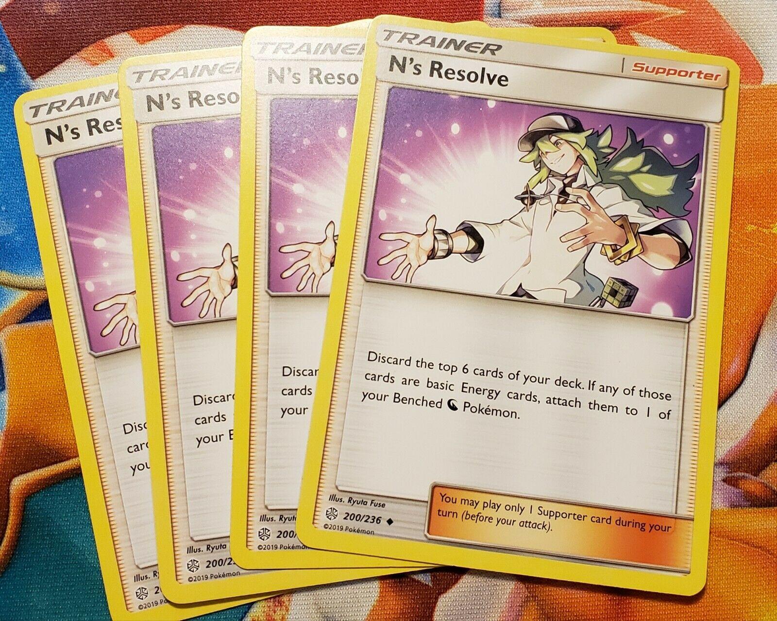 N/'s Resolve 200//236 Pokemon COSMIC ECLIPSE