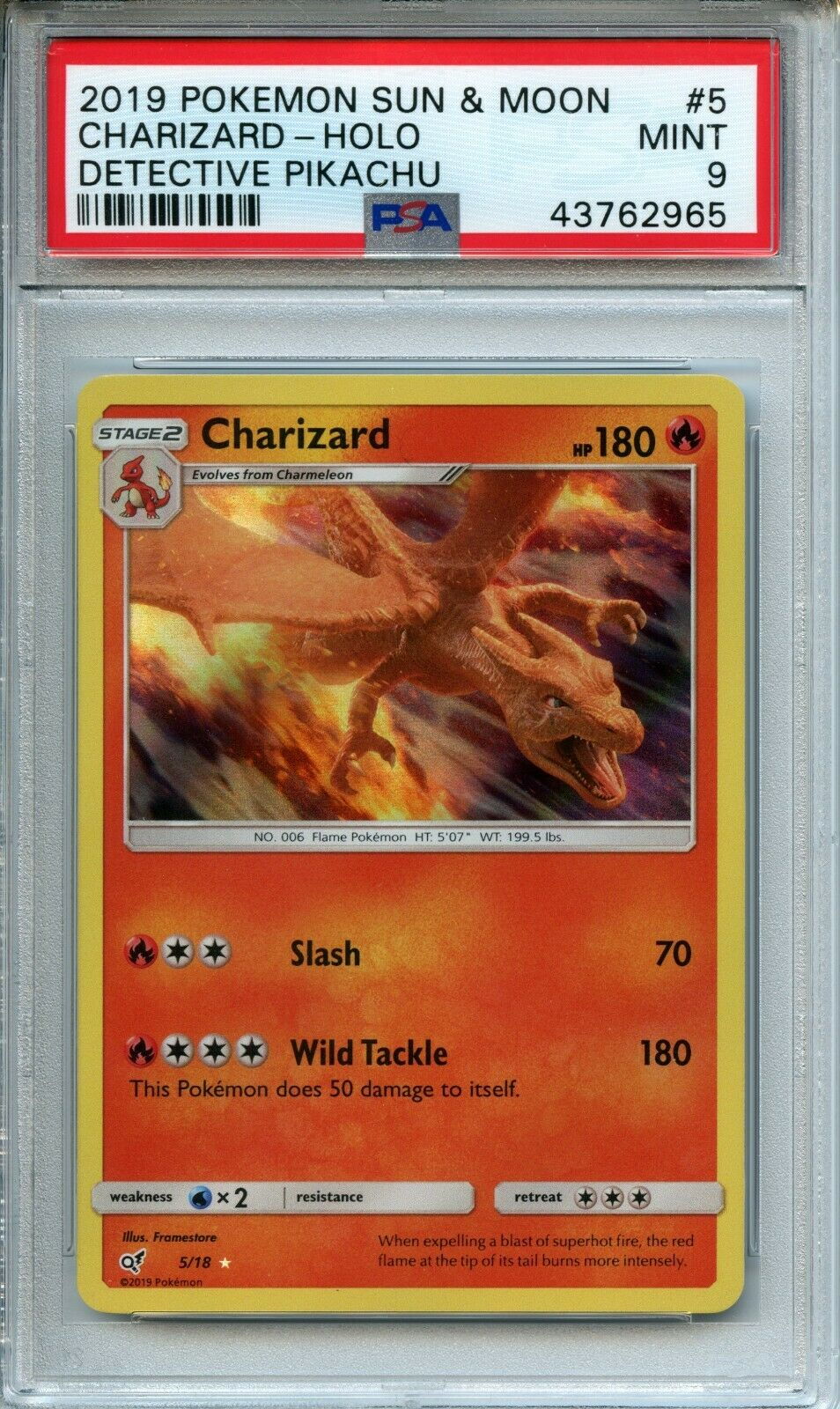 Charizard Detective Pikachu 5 18 See What It S Worth Mavin