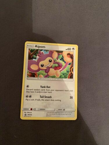 OtBG Aipom SM244 Promo Pikachu Battle League Deck English Non Holo Near Mint NM