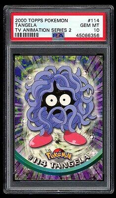 Vending Series 2 GLOSSY NEAR MINT//MINT Pokemon TANGELA #114 Japanese