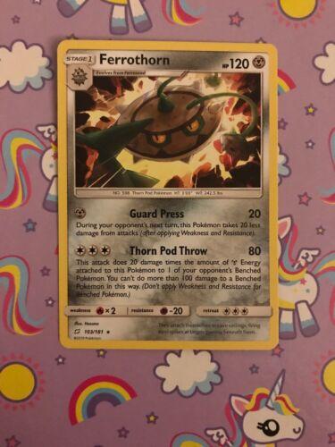 POKEMON TEAM UP CARD :- FERROTHORN - 103/181 - Image 1