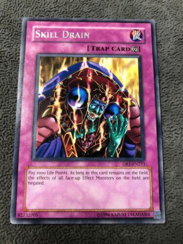 Skill Drain Yugioh Rare DCR-049