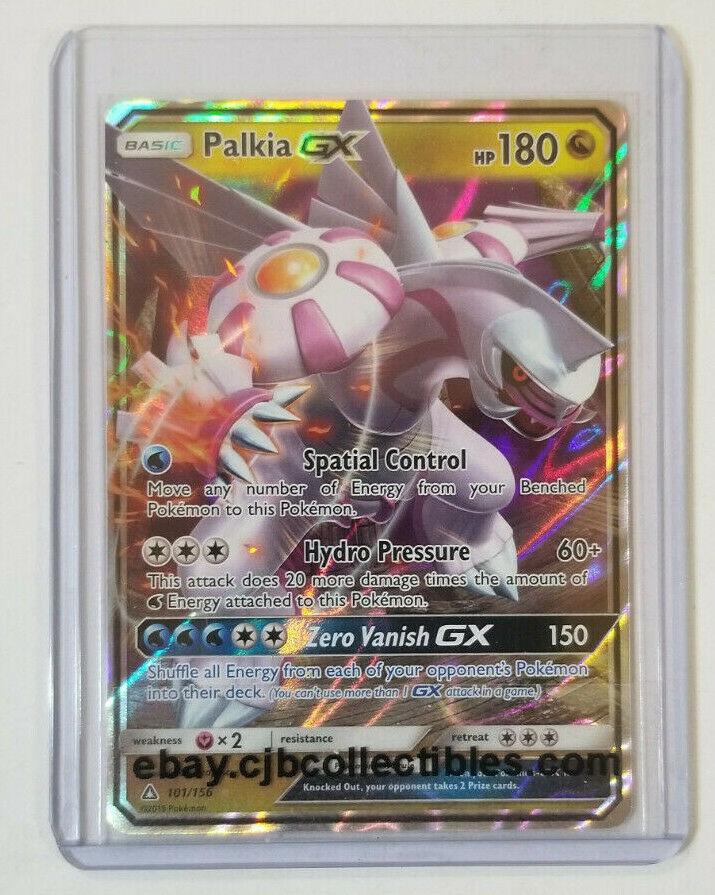 Palkia GX 101//156 Rare Holo Foil Pokemon SM Sun /& Moon Ultra Prism Card