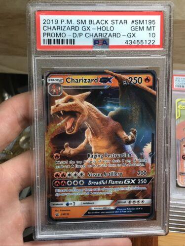 Pokémon PSA 10 Charizard GX GEM Mint Holo Promo Detective Pikachu 2019 Invest