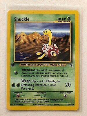 Shuckle Neo Genesis PKNeoGen072 Common 72//111
