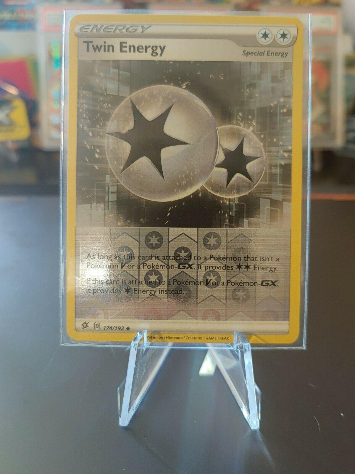 174//192 x4 Twin Energy Uncommon Pokemon SS02 Rebel Clash M//NM