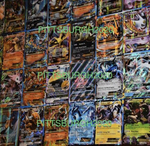 Pokemon Card Lot 50 OFFICIAL Cards Ultra Rare Included GX//V HOLOS!