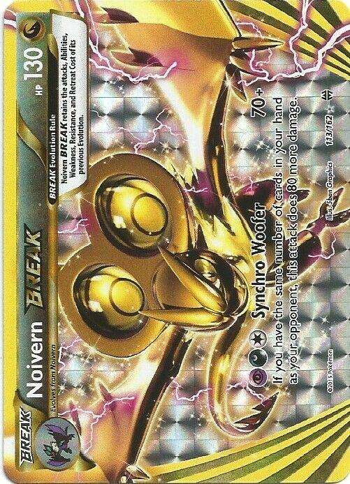 Noivern Break 113//162 XY Breakthrough Ultra Rare Holo Pokemon Card MINT TCG