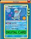 Quagsire - 26/70 Dragon Majesty PTCGO Online Digital Card
