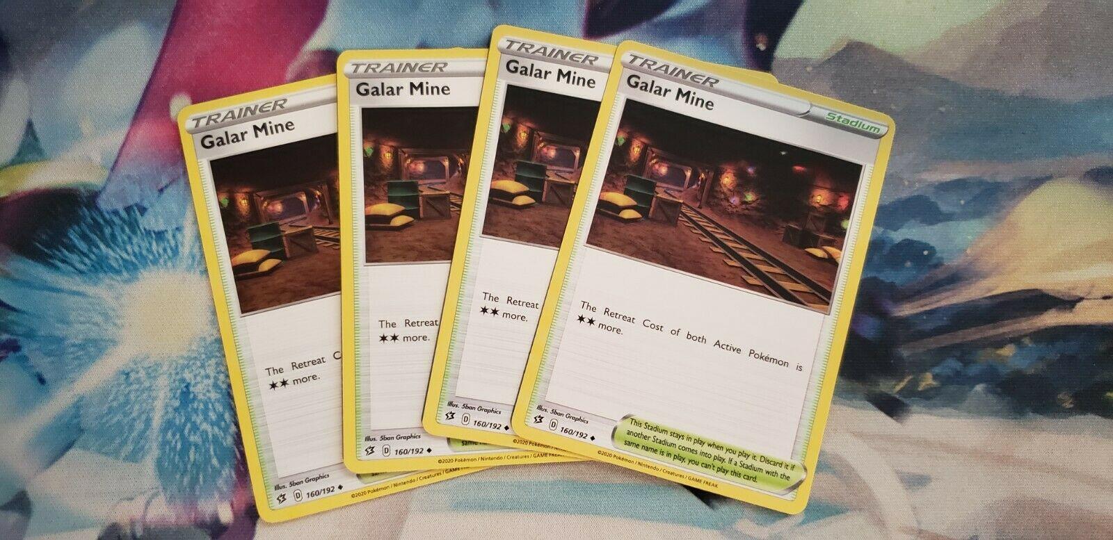 160//192 Galar Mine Uncommon Reverse Holo Card Pokemon Sword /& Shield Rebel Clash