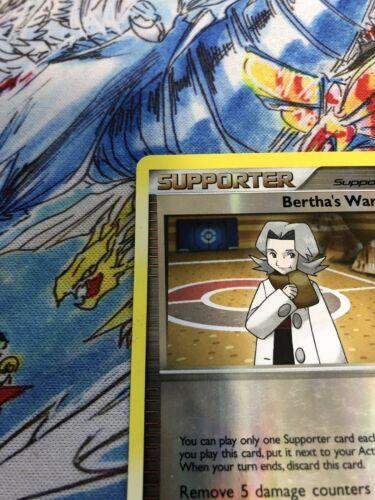 pokemon bertha's warmth 90/111 reverse holo platinum rising rivals played - Image 2