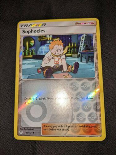 Uncommon Pokemon Shining Legends M//NM English 65//73 x4 Sophocles