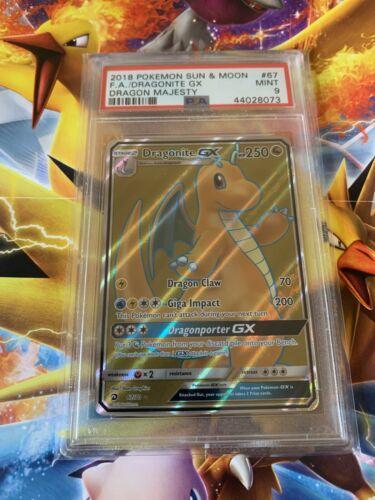 Full Art Ultra Rare NM Sun /& Moon Dragon Majesty RK6 67//70 Dragonite GX