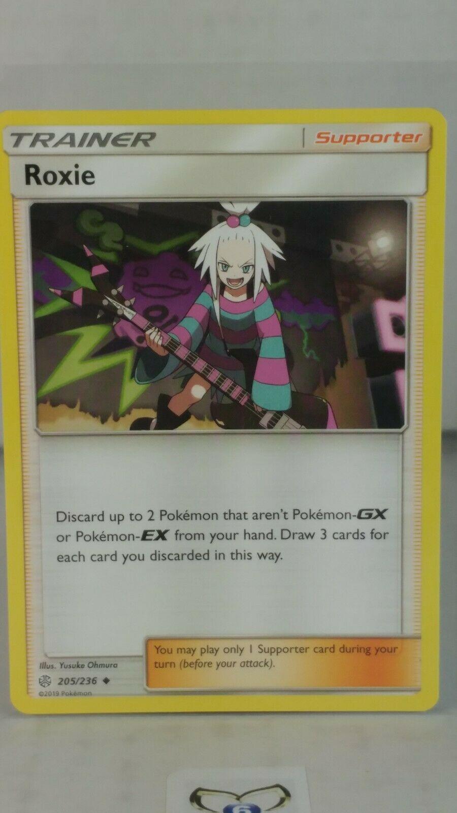 Pokemon Roxie 205//236 Cosmic Eclipse
