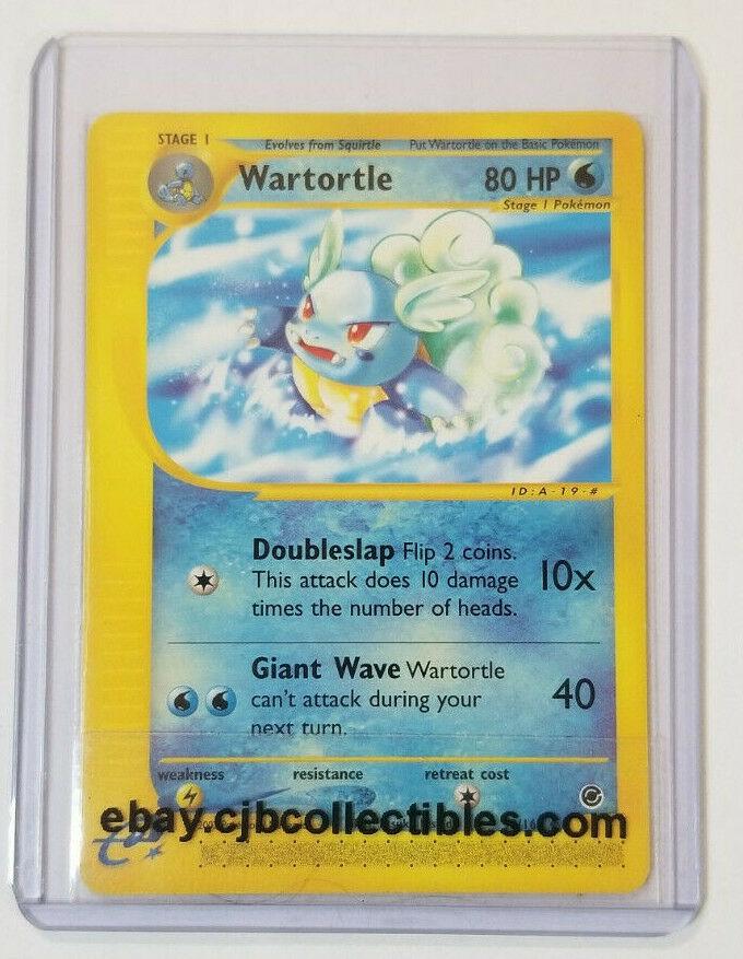NEAR MINT Uncommon 92//165 Wartortle
