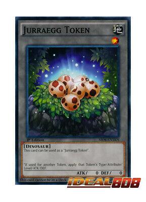 Jurragg Token Common YUGIOH UNL Ed SR04 ENTKN