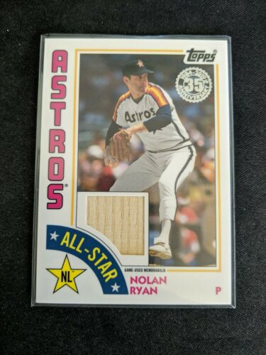 2019 Topps Series 1 Baseball 35th Anniversary 1984 84#T84-96 Nolan Ryan Houston Astros
