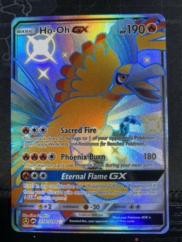 Ho-Oh GX SV50 Hidden Fates Pokemon Card TCG Online Digital