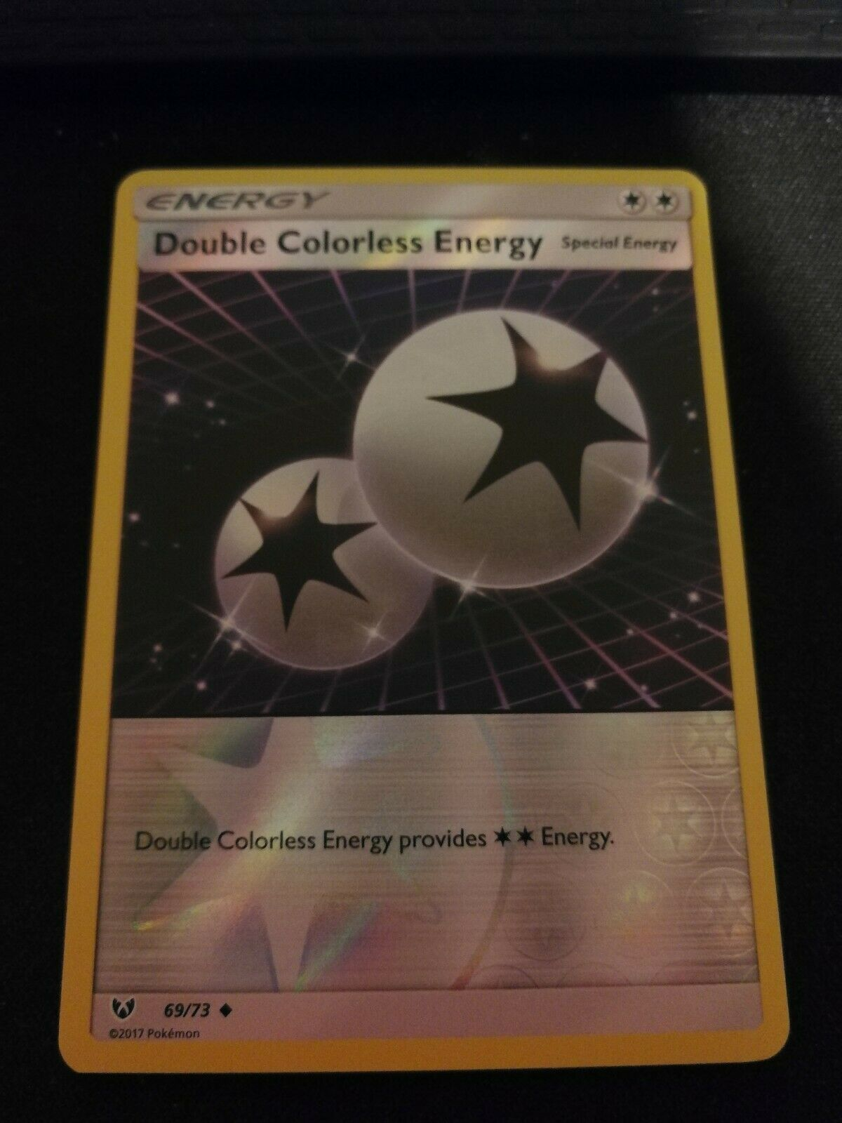 Double Colorless Energy Shining Legends 69//73 Pokemon Cards Set of 4
