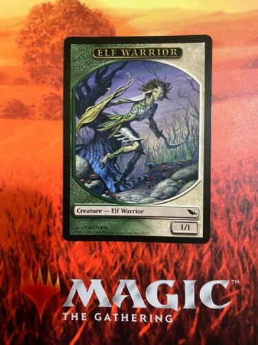 Eternal Masters MTG Elf Warrior Token NM