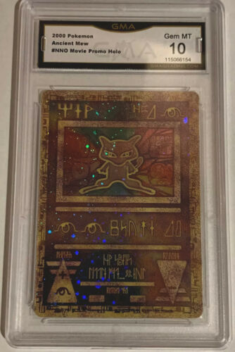 2000 Pokemon Game Ancient Mew The Movie 2000 Promo Holo PSA 10 POP 1095 QTY