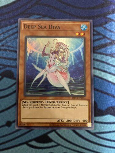 NM - Super Rare Deep Sea Diva Unlimited Edition Yugioh OP13-EN004