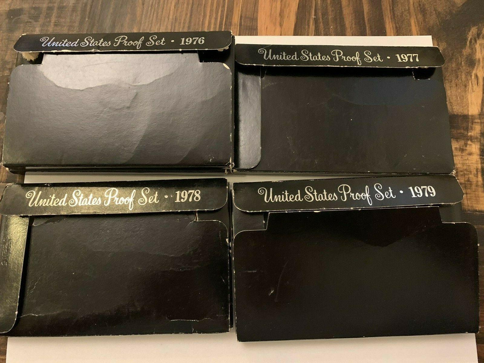 1971 1972 1973 1974 1975 1976 1977 1978 1979 1980 1981 Proof Set US Mint 11 set