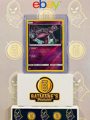 Mewtwo 75/214 NM Near Mint SM Unbroken Bonds Reverse Rare Holo Pokemon Card