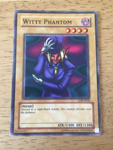 Witty Phantom Unlimited Edition x3 Common Near Mint LOB-072