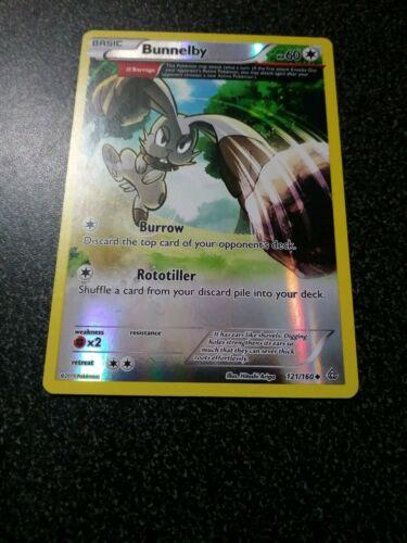 Bunnelby 121//160 UncommonXY Primal ClashPokemon Card