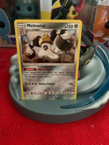 Pokemon Card - Melmetal Holo 129/214 - 2019 Release - Great Condition
