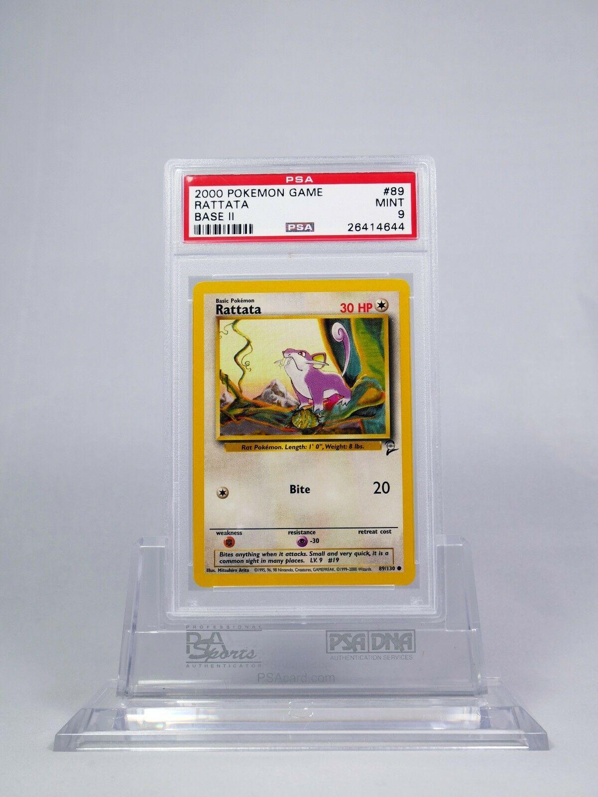 Rattata 89//130 Mint Near Mint Base Set 2 Pokemon Card