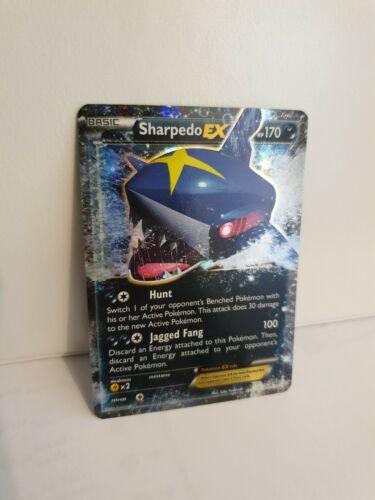 Sharpedo EX 91/160 Primal Clash Rare Holo ex Mint Pokemon Card