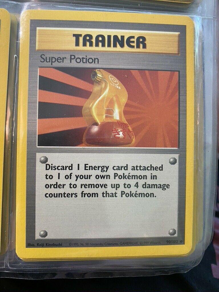 Super Potion 90//102 Base Set Pokemon Card Exc Cond #