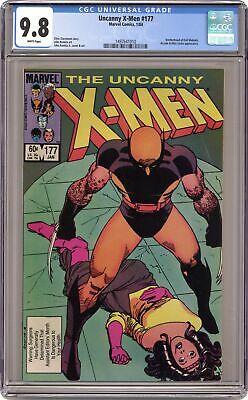 UNCANNY X-MEN 176 Near Mint NM M Mint 9.6 9.8 MARVEL COMICS stock image 1983