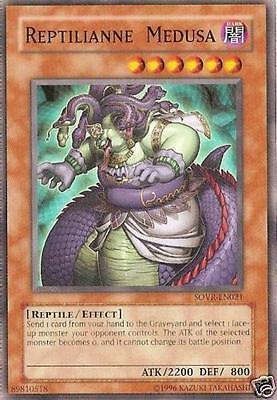 Ultra Rare Yugioh 1st Edition Reptilianne Echidna DUOV-EN016