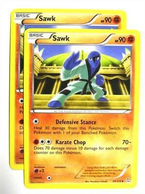SAWK 69//124 REV HOLO POKEMON BLACK AND WHITE DRAGONS EXALTED