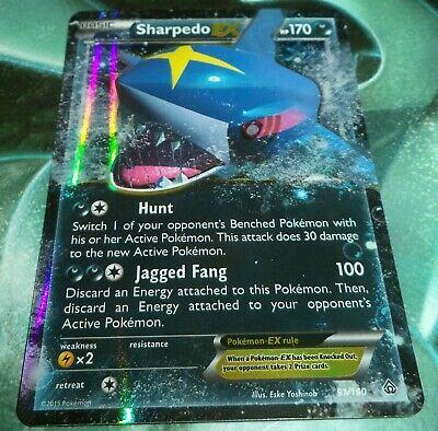 Pokemon Sharpedo-EX - 91/160 - Ultra Rare XY Primal Clash NM