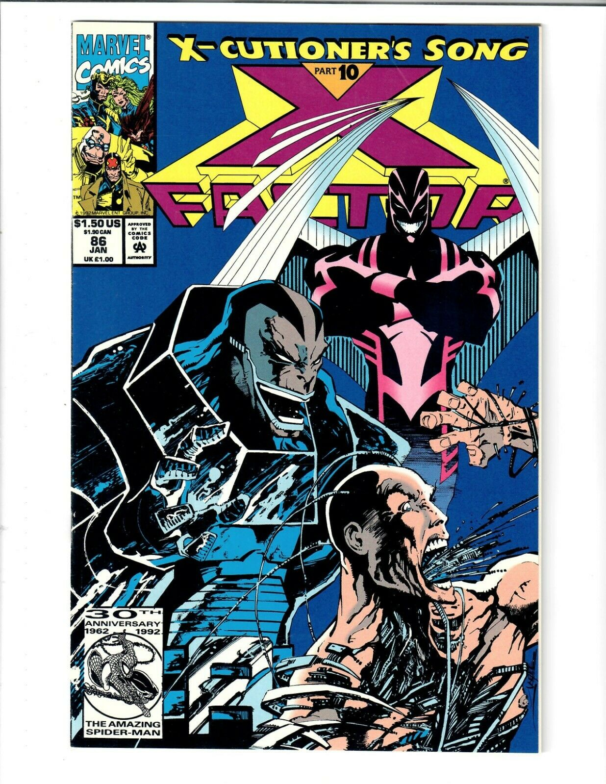 X-Force 1991 Series 9.2 #18 January 1993 Marvel NM