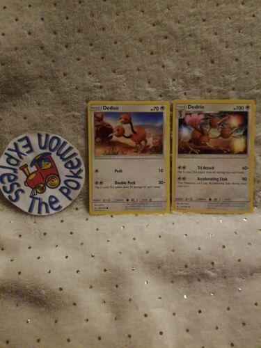Pokemon Unbroken Bonds x4 Doduo 150//214 Common