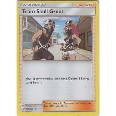 Pokemon Card 184//202 or 133//149 Near Mint//Mint 2x Team Skull Grunt