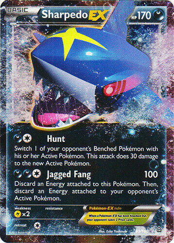 Pokemon - Primal Clash - Sharpedo-EX (91/160) - Ultra Rare - NM/M - NEW