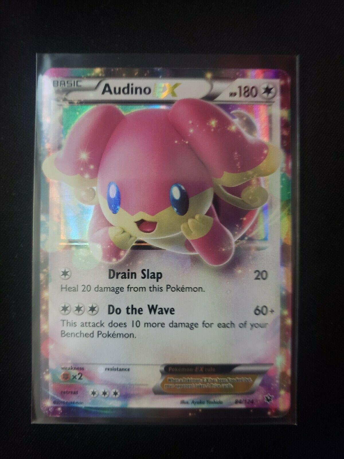Audino EX 84//124 XY Fates Collide Holo Ultra Rare Pokemon Card