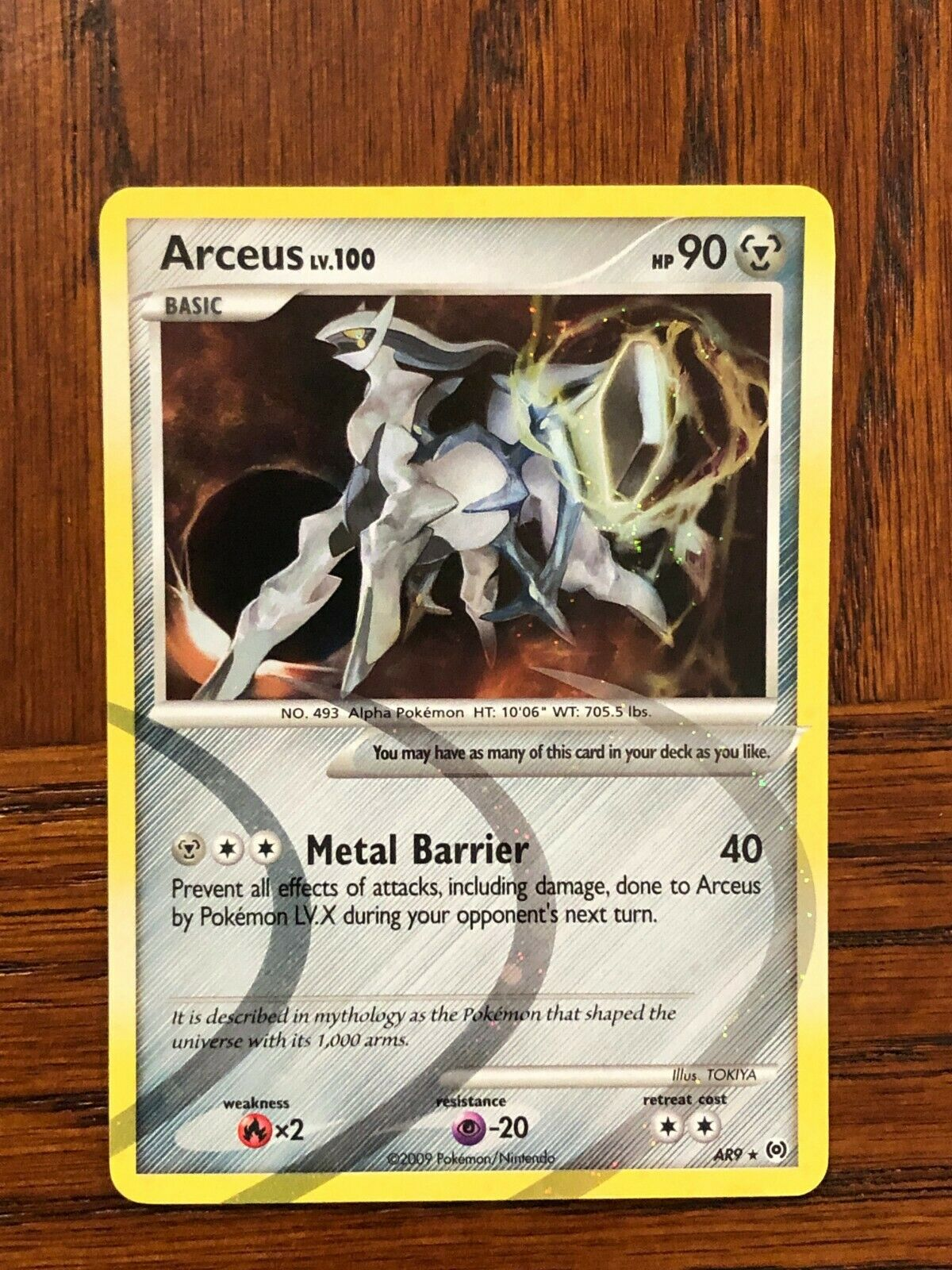4x Swalot Lv.40 Pokemon Arceus Card # 9 pok-PLAR-009 Holo Rare