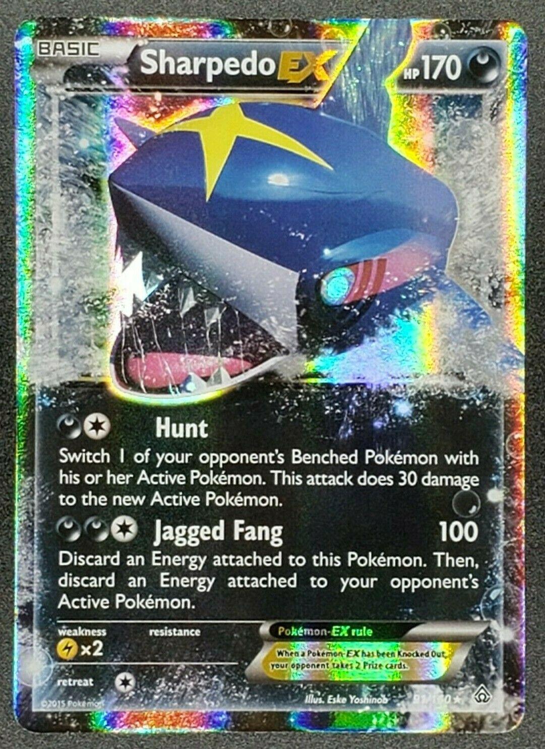 Pokemon - Sharpedo EX - XY Primal Clash - 91/160 - MINT
