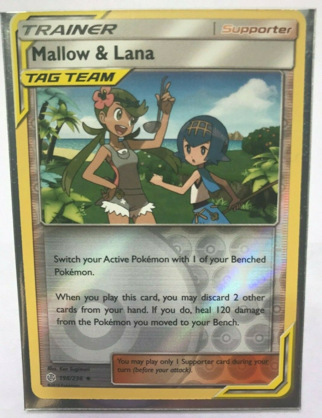 4x Mallow /& Lana 198//236 Playset from Cosmic Eclipse NM