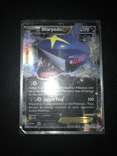 Pokemon SHARPEDO EX 91/160 Holo Ultra Rare XY Primal Clash - Near Mint Condition