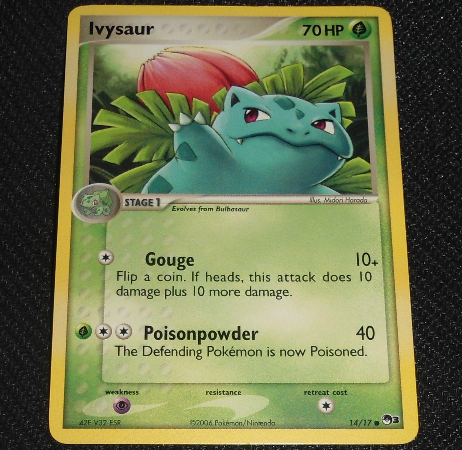 Ivysaur 14//17 Pop Series 3 Pokemon Card NEAR MINT