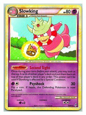 32//95 1x Slowking Call of Legends Rare Reverse Holo NM-Mint Pokemon HGSS