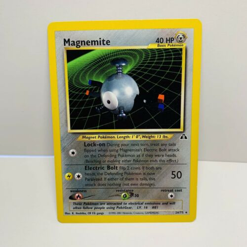 Magnemite Neo Discovery 26/75 - See what it's worth | MAVIN Price Guide